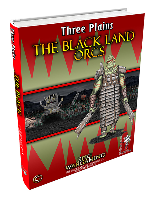 Black Land Orcs' Codex- Fantasy Orces